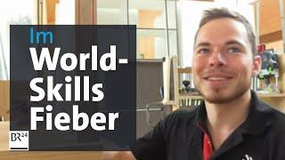 WorldSkills 2019 Schreiner Florian trainiert fur die Handwerker-WM im russischen Kazan BR ...