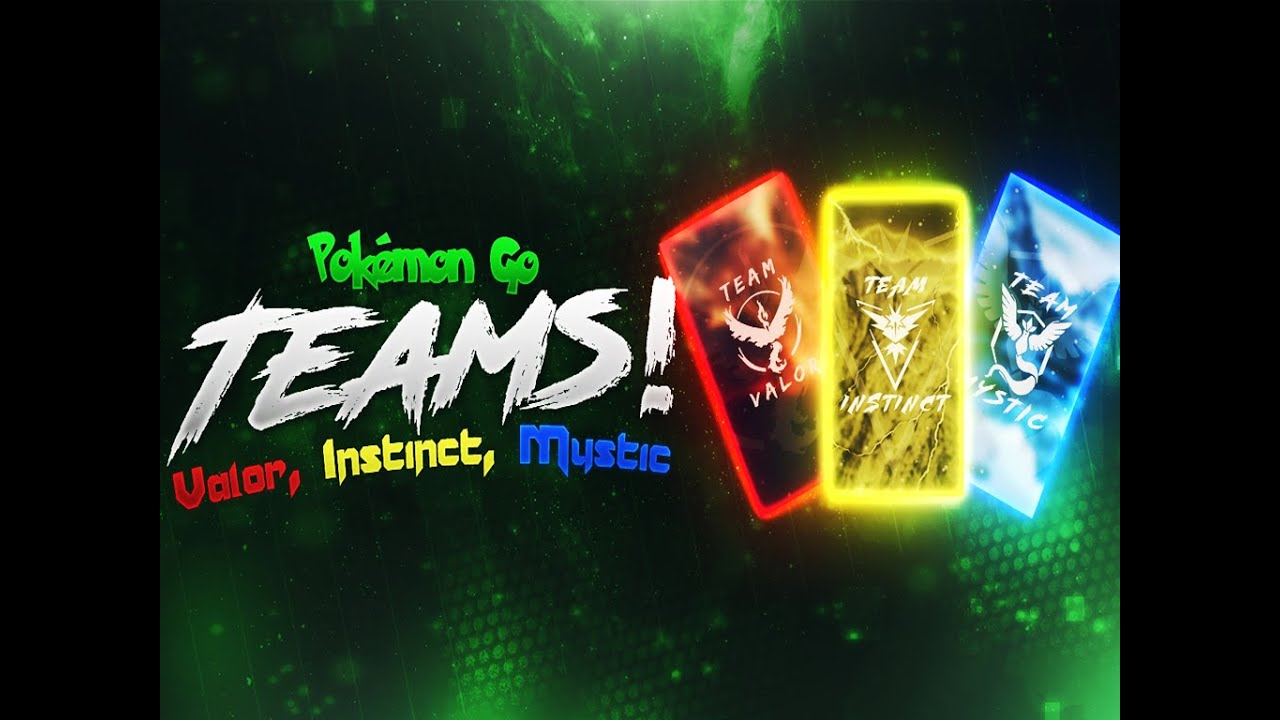 Pokemon Go Teams Valor Instinct Mystic Iphone Android And Pc
