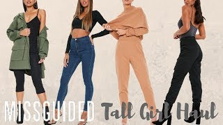 Tall Girl Missguided Haul| The Best Clothes For Tall Women 5ft11