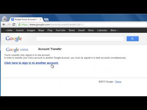 How to Change Google Voice Number to Different Account