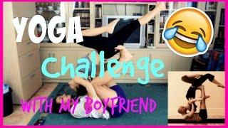 yoga challenge   with my boyfriend