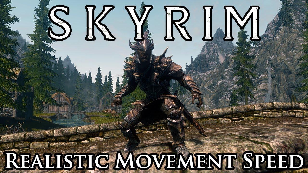 Skyrim Mod Spotlight: Realistic Humanoid Movement Speed - YouTube