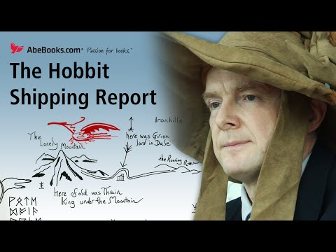 The Hobbit read as the BBC Radio 4 Shipping Forecast