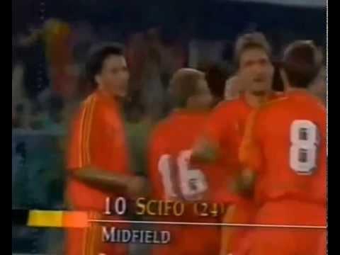 Enzo Scifo - goal da 35 metri in Belgio vs Uruguay - Mondiali Italia