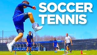 Soccer Tennis | INSIDE TRAINING