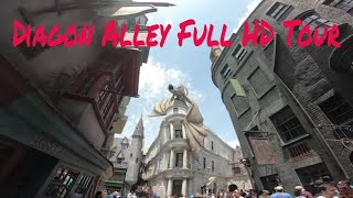 Diagon Alley HD The Wizarding World of Harry Potter narrated tour Universal Studios Orlando