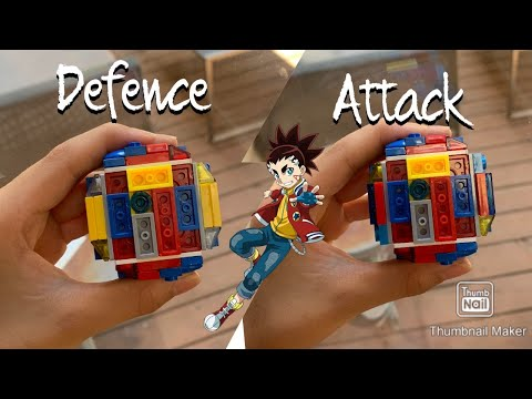 Infinite Achilles gimmick!!! 100% working | LEGO beyblade reviews