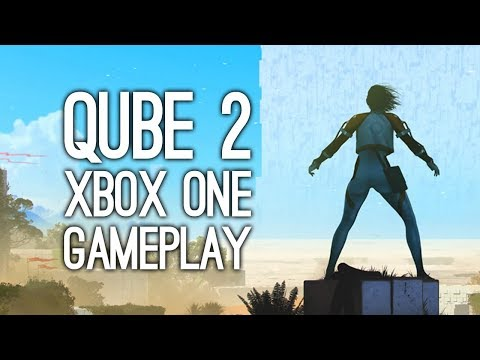 QUBE 2 Gameplay: Let's Play QUBE 2 on Xbox One - UP YOURS, PHYSICS