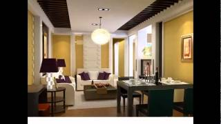 Fedisa Interior Residential Design  Comfortable Home Dining Room Design 3d