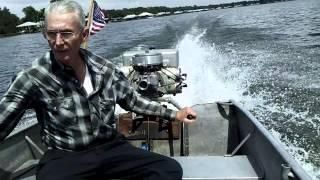1943 Evinrude Big Four 50 hp Antique Outboard