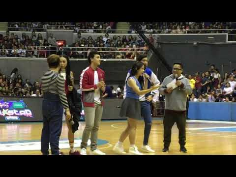 MayWard and KissMarc do the MOBE dance | Halftime Performance - Star Magic All Star Game VERSION 1