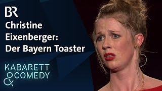Christine Eixenberger: Toaster im FCB-Fanshop