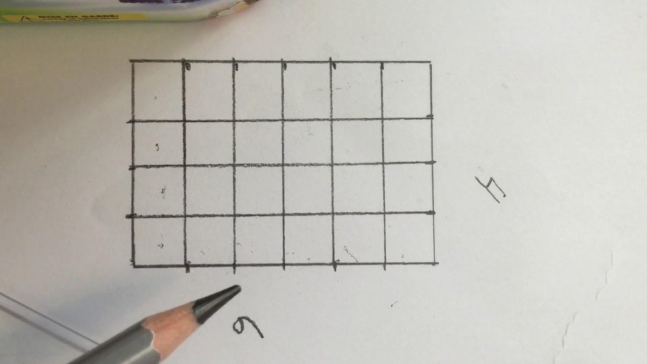 Sammenhengen mellom arealet av rektangel og arealet av rettvinklet trekant