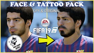 INSTALL NEW FACE & TATTOO MOD FOR FIFA 19 - SUPER MOD 2 + SQUAD UPDATE 2 MAY!! [CPY & ORIGINAL]