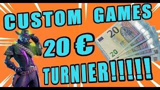 🔴 CUSTOM GAMES🏆 Duo Turnier mit Preisgeld 🏆   Deutsch /German   Fortnite live Stream Abozocken