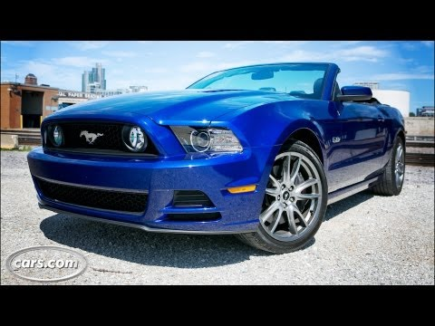 2014 ford mustang gt convertible video review. Black Bedroom Furniture Sets. Home Design Ideas
