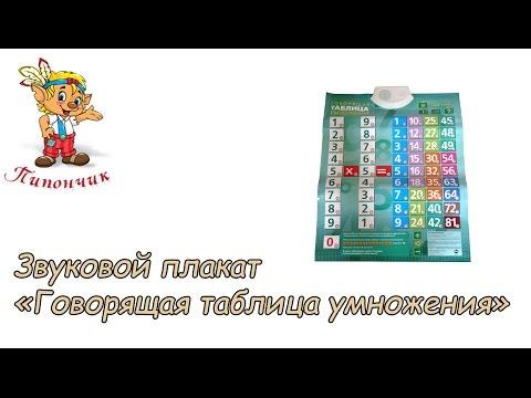 Говорящая таблица умножения 7022.MP4