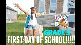 FIRST DAY OF SCHOOL + SHE WENT MISSING || VLOG