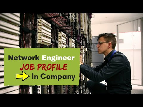 network engineer job description and skill in usa and india