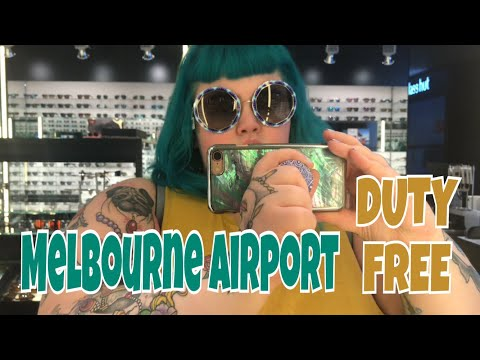 Traveling to Thailand, Melbourne Airport and Duty Free