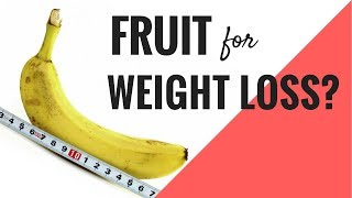 The 5 BEST Fruits For Weight Loss