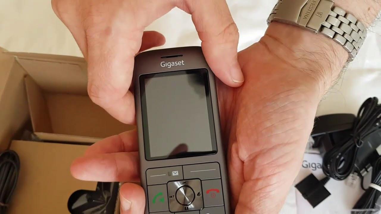 Gigaset CL660 Téléphone Fixe sans Fil DECTGap Anthracite unboxing.🇫🇷📲☎ de165f8a7a27