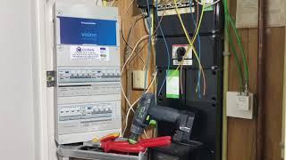 Plaatsen nieuwe meterkast + Elektra aanleggen in keuken volgens nieuwe keuken tekening