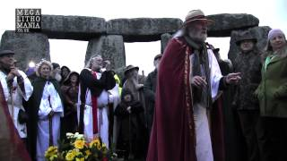 2017 Spring Equinox At Stonehenge With The Druids