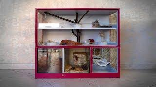 Cage faite maison - Meuble animalier