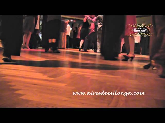 Berlin, milongueando en  Ballhaus Walzerlinksgestrickt milonga, tango en elemania