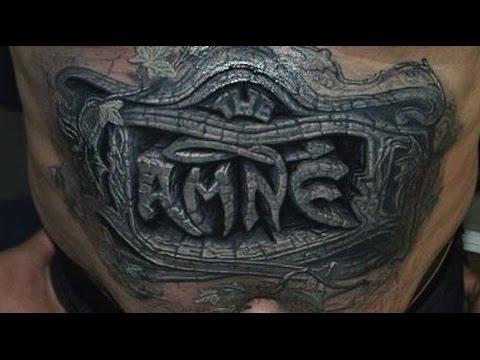 Best 3D tattoos in the world HD - 3D Tattoo Design Ideas - YouTube