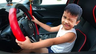 We are in the Car | The Wheels On The Bus Song Nursery Rhymes & Kids Songs by Kids Anto TV