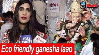 Interview:  Aahana Kumra Visits Andheri ch Raja For Aarti | Lipstick Under My Burkha Actor