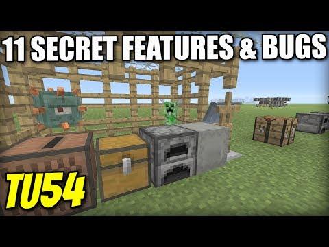 11 SECRET BUGS & FEATURES [ TU54 ] Minecraft Xbox / PS4 / PS3 / Switch / Wii U