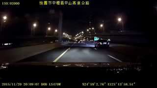 DOD LS470W 夜間高速公路 深色隔熱紙 V-COOL OEM35 透光39%