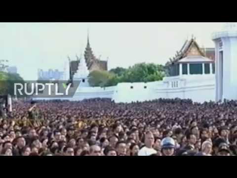 Thailand: Thousands bid farewell to King Bhumibol Adulyadej