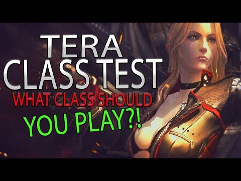 Testing All Of The Classes In The Action MMORPG TERA Online - What Class Should You Be Playing?!