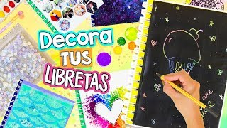 The BEST 16 IDEAS TO DECORATE YOUR NOTEBOOKS. VIRAL & UNIQUE ideas! ✎ ✄ Craftingeek