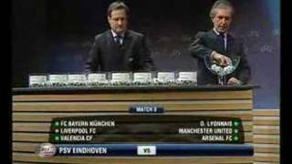 06-07 UEFA CL First knockout round Draw 2