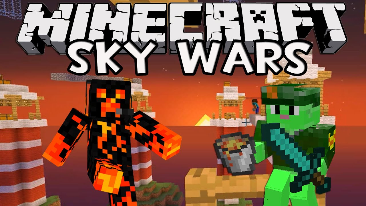 Minecraft: Sky Wars con IncrossMX - LAVA POWER! - YouTube