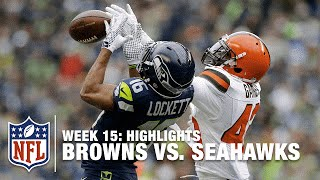 Browns vs. Seahawks | Week 15 Highlights | NFL