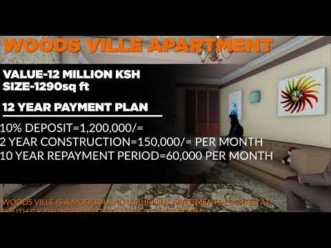 Woodville  Luxurious Apartments,3 Bedroom South C Nairobi