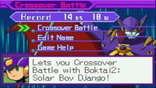 Mega Man Battle Network 5: Crossover Battle - ShadowRockZX vs DarkSolCross!