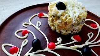 Салат Мясной. Салат Оливье. Салат Столичный.  / Meat salad. Salad Olivier.