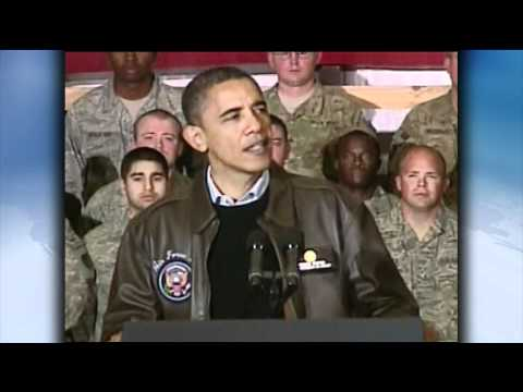 Obama Surprises Troops in Afghanistan; Weather Scrubs Karzai Visit