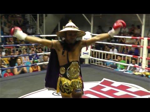 Nin Wisset Sumalee VS Anvar Tiger Muay Thai: Bangla Boxing Stadium, 19th November 2014