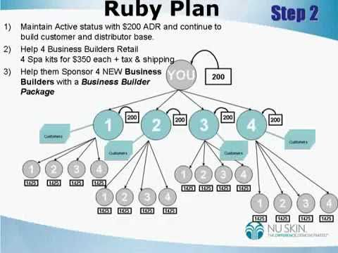 Nu skin business plan
