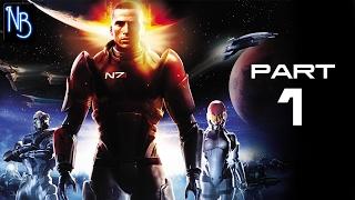 Mass Effect Walkthrough Part 1 No Commentary