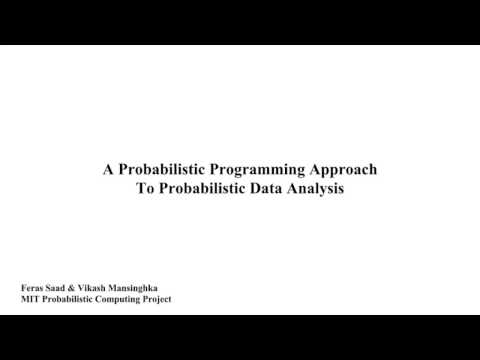 A Probabilistic Programming Approach To Probabilistic Data Analysis (NIPS 2016 Spotlight)