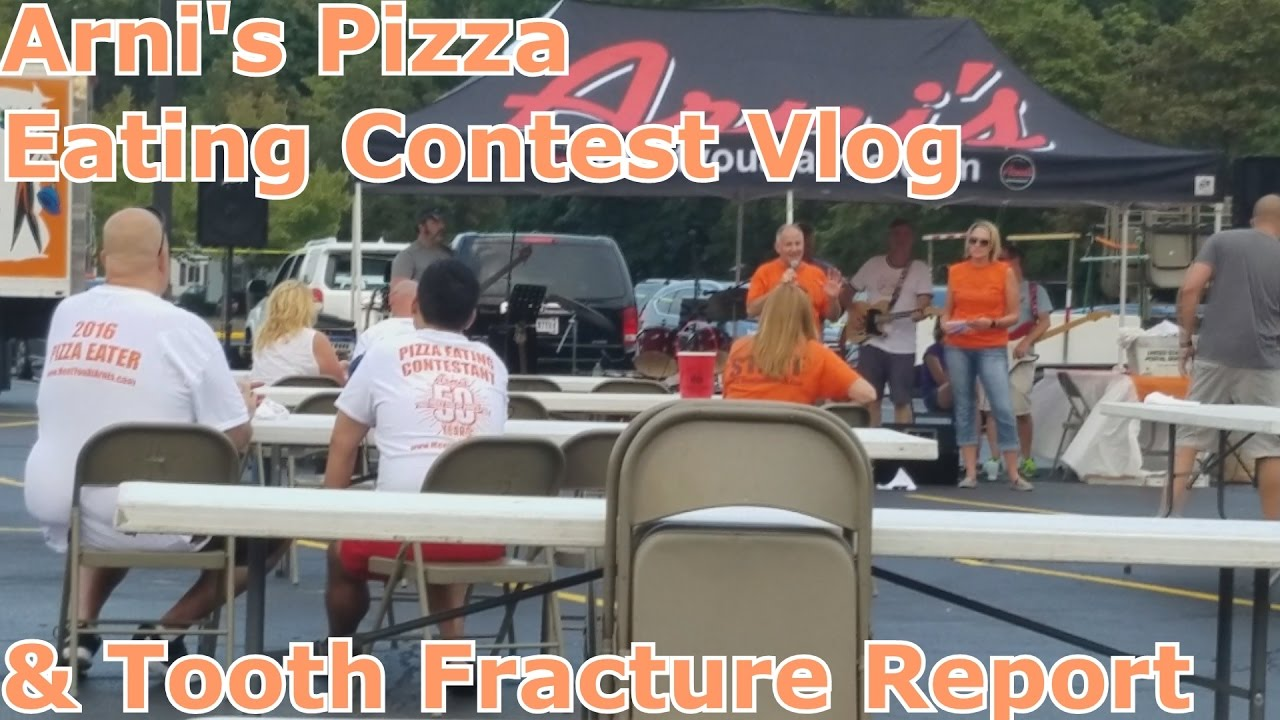 Arni S Pizza Eating Contest Tooth Fracture By Ray S Good Eats